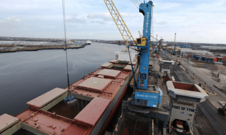 Record shipment for Port of Tyne