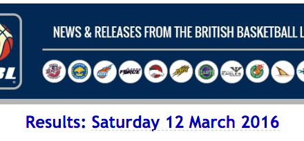 BBL – Results: Saturday 12 March 2016