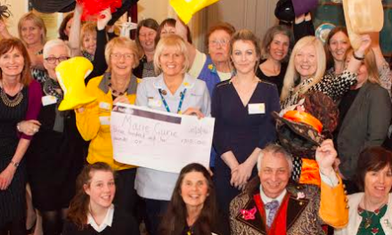 Hats off for Marie Curie fundraiser