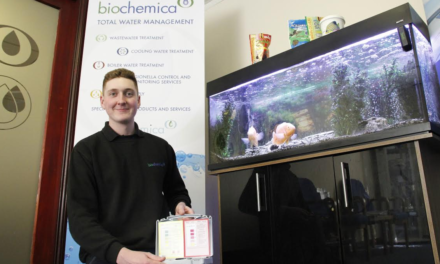 Biochemica Fishes out New Skills for Apprentices