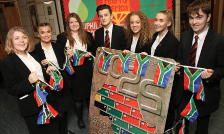 Students heading to Africa appeal for business partners