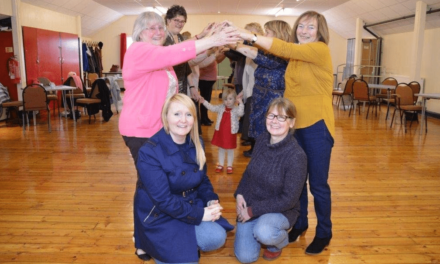 Smooth going at Newcastle Church Hall as Banks Group Grant covers floor repairs