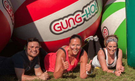 Ticket sales off to flying start as runners get set to go Gung-Ho! on Britain's biggest inflatable obstacle course