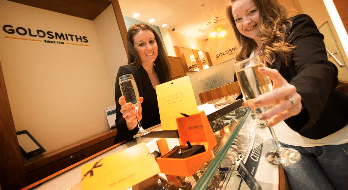 Newcastle Goldsmiths Mother's Day Winner has her time to shine