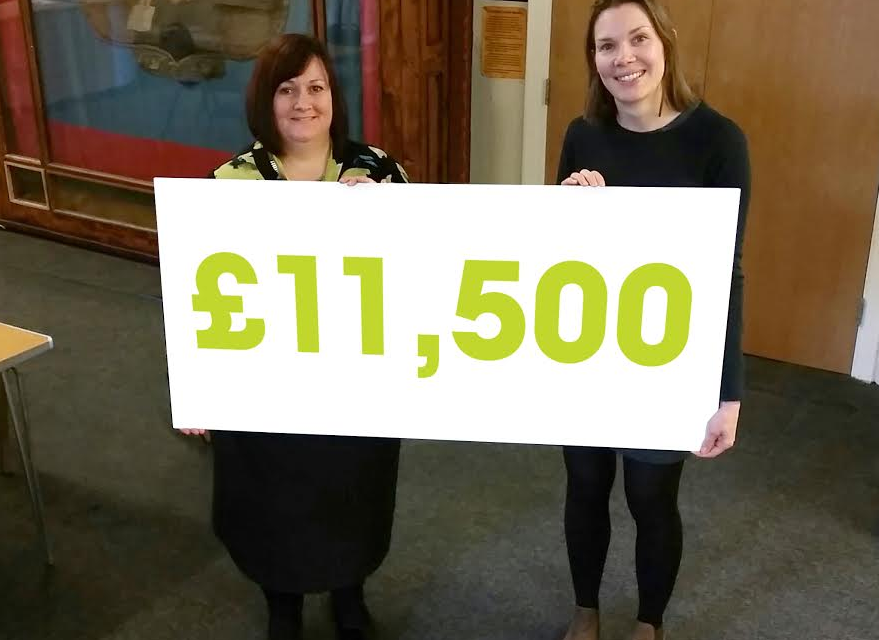 £11,500 to help people become digitally connected