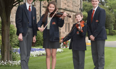 School musicians play alongside professionals at museum concert