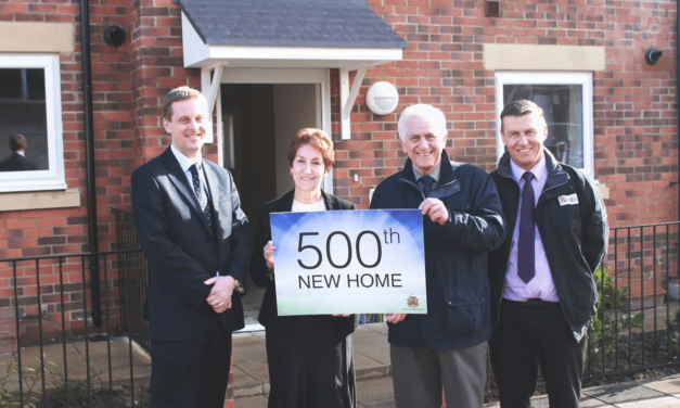Police station makes way for 500th home