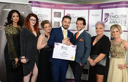 Winners of North East Salon of the Year 2016 – Convey Salons, Eston