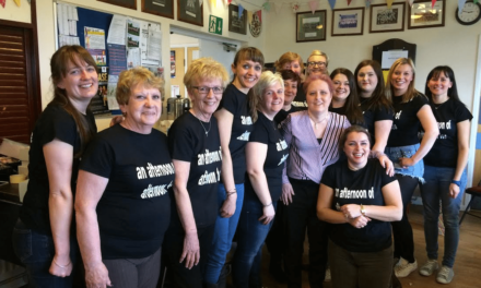Bev inspires team to raise funds for hospice