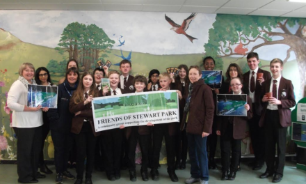 Friends of Stewart Park join up with Macmillan Academy