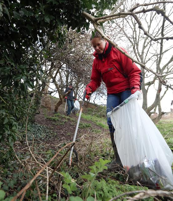 Litter-picking success in Redcar and Cleveland