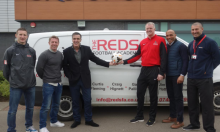 Legendary Boro stars bring coaching academy to SRC