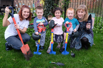 Building society supports local nursery