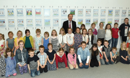 Youngsters' Tour de Yorkshire Artwork goes on Display