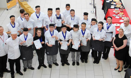 Hartlepool College hosts national cooking competition