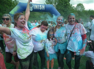 Safe Families for Children sponsors colourful fundraising event