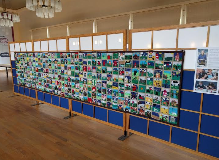 Crafty Kids Create Quality Quilt
