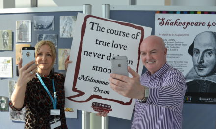Do a Shakespeare selfie to celebrate World Book Night at City Library