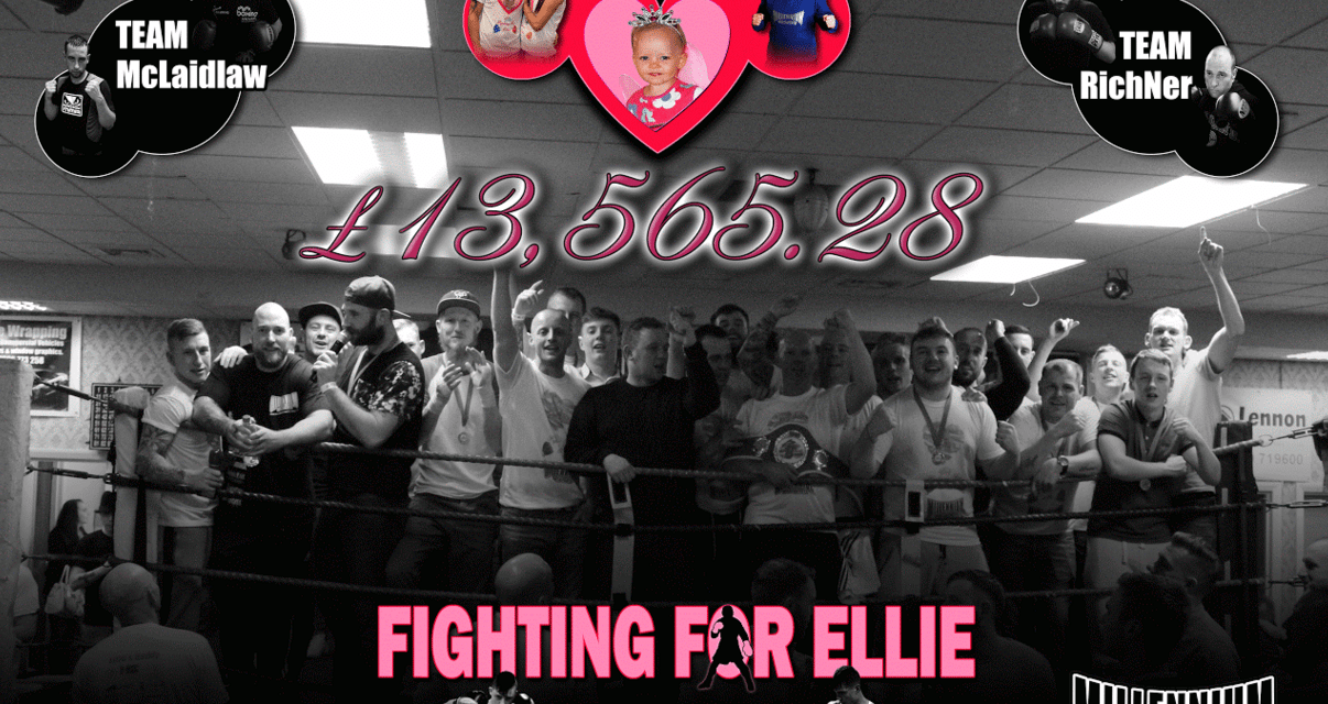 Amateur Boxing Event in Memory of Blyth's Little Angel set to Smash all Previous Fundraising Records!