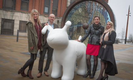 "Sunderland city centre provides ""paws"" for thought"