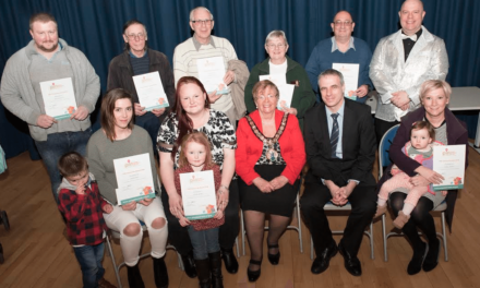 Award ceremony PINs down community achievement