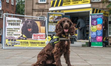 Tobacco detection dogs lend a paw to the law