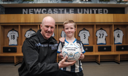 Derby Day Helper Receives Reward