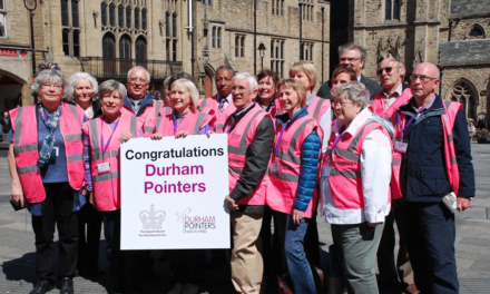 Enthusiastic Volunteers sought by Durham Pointers