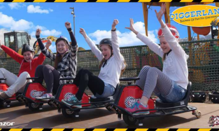 Awesome new Crazy Carts attraction only at Diggerland!!!