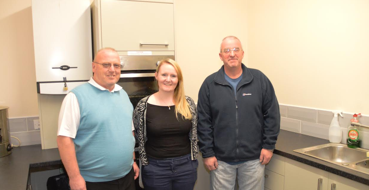 Kitchen Upgrade on the Menu at Stobswood Recreation Centre