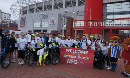 Hill Care supports 120-mile charity cycle ride through Yorkshire