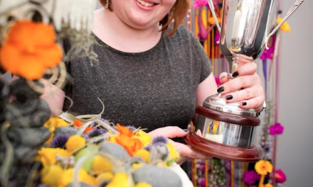 Gold Medal Florist brings her blooms to Durham Market Hall