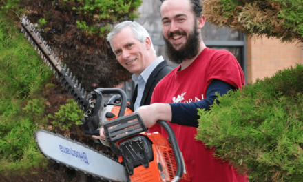 Tree Surgeon nurtures business success