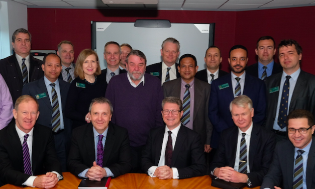 World military top brass meet North East business leaders