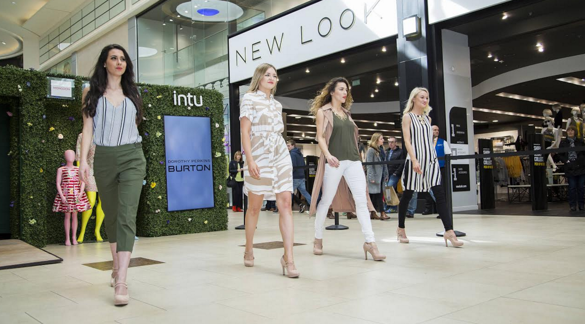 intu launches national campaign heralding the new season's fashion in style