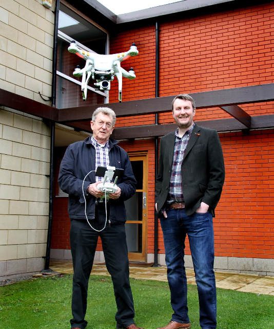 UK drone expert lands at Newcastle studios for free demo day