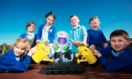 "Astronaut brings ""space seeds"" to County Durham kids"