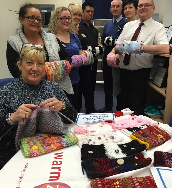 Insulation heroes turn to knitting