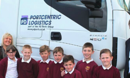 PD Ports teaches school children about logistics to attract future talent and plug skills gap