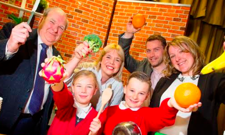 Children taught to Love Food as part of Bishop Auckland Food Festival