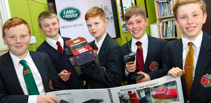 North Yorkshire students battle it out in finals of Land Rover engineering comp