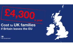 HM Treasury analysis shows leaving EU would cost British households £4,300 per year