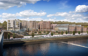 Plans submitted for Milburngate regeneration
