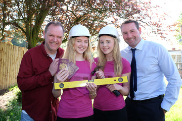 Teesside schoolgirls build homes for typhoon victims