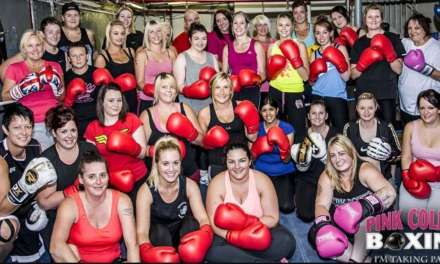 Charity boxing event for ladies in Newcastle upon Tyne