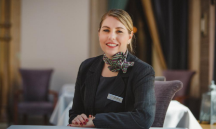 Rockliffe Hall's head housekeeper selected for top industry diploma