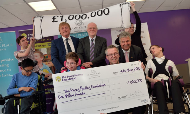 The Percy Hedley Foundation Receives £1Million Donation from the St. James' Place Foundation to Boost New Appeal