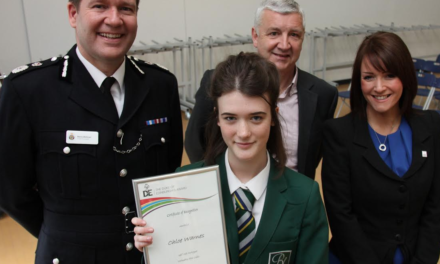 Cadet is 300th in new link between police and Duke of Edinburgh Award
