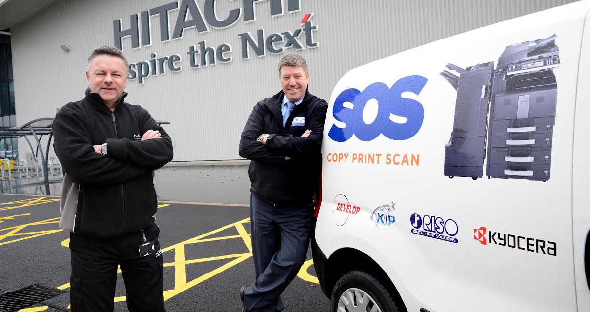 SOS Group and Hitachi Rail 'Track Back' to the North East
