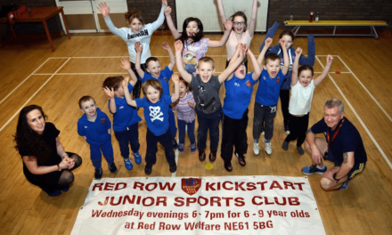 Kids get a kick out of Isos funding
